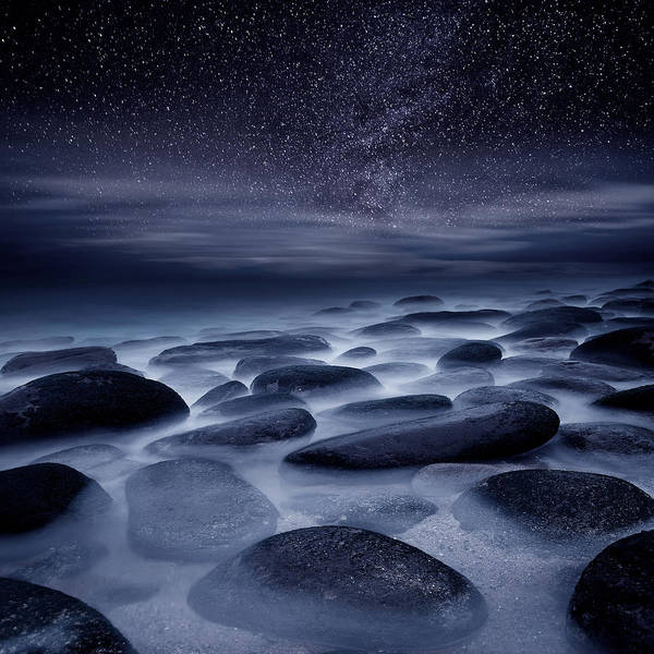 Night Poster featuring the photograph Beyond Our Imagination by Jorge Maia