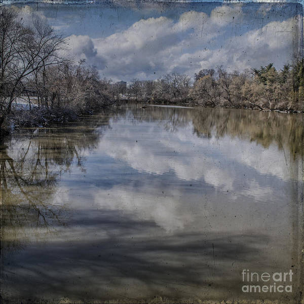 Boundary Channel Poster featuring the photograph Boundary Channel Reflections by Terry Rowe