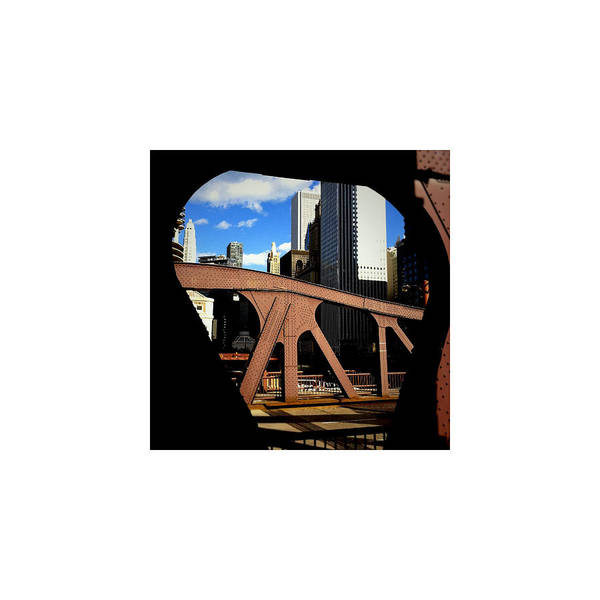 Chicago Poster featuring the photograph Bridge_09.23.12 by Paul Hasara