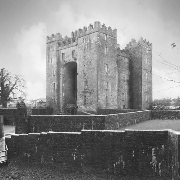 Bunratty Castle Poster featuring the photograph Bunratty Castle - Ireland by Mike McGlothlen