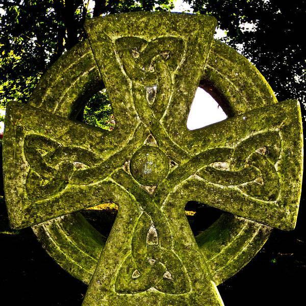 Celtic Poster featuring the photograph Celtic Cross by David Pyatt