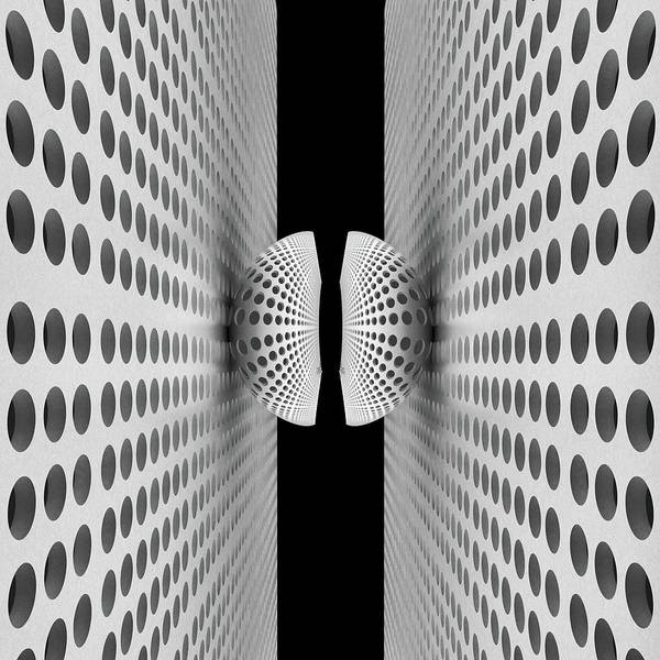 Abstract Poster featuring the photograph Corridor Of Ball by Antonyus Bunjamin (abe)