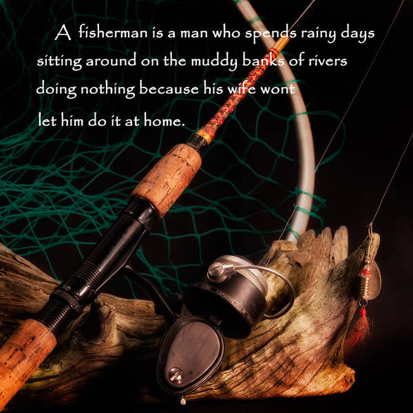Fish Poster featuring the photograph Doing Nothing by Bill Wakeley