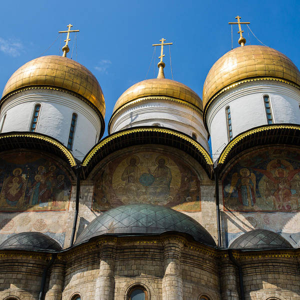 Architecture Poster featuring the photograph Dormition Cathedral - Square by Alexander Senin