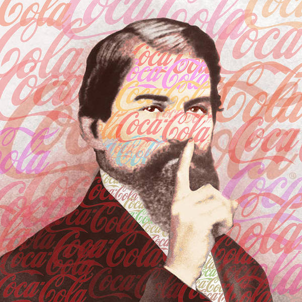 Coca-cola Poster featuring the painting Dr. John Pemberton Inventor Of Coca-cola by Tony Rubino