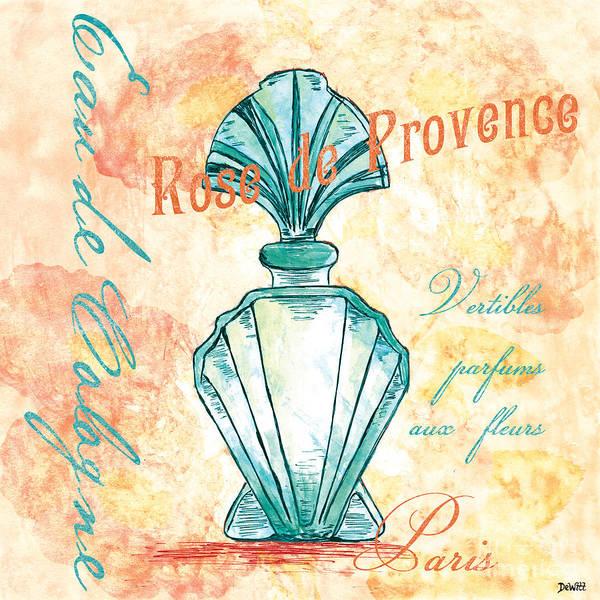 Perfume Poster featuring the painting Eau De Cologne by Debbie DeWitt