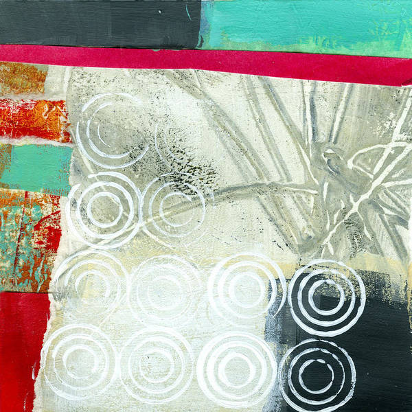 4x4 Poster featuring the painting Edge 51 by Jane Davies