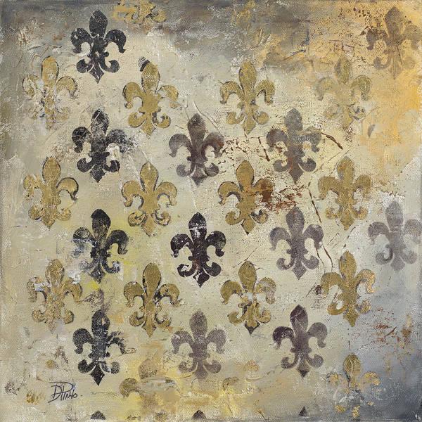 Fleur Poster featuring the painting Fleur De Lis by Patricia Pinto