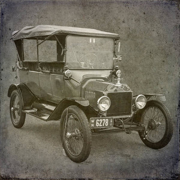 Ford Model T Poster featuring the photograph Ford Model T by Angie Vogel