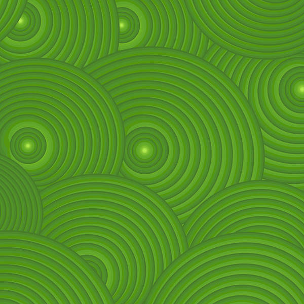 Frank Tschakert Poster featuring the painting Green Abstract by Frank Tschakert