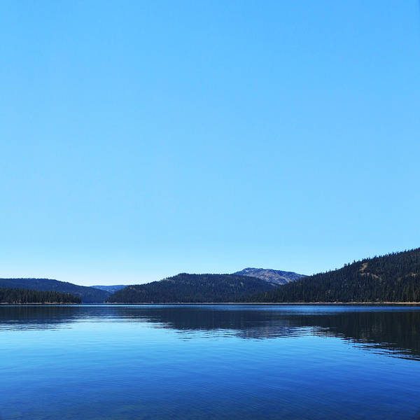 Lake Poster featuring the photograph Lake In California by Dean Drobot