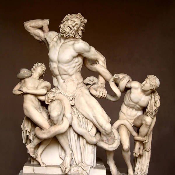 Laocoon And Sons Poster featuring the photograph Laocoon And Sons by Ellen Henneke