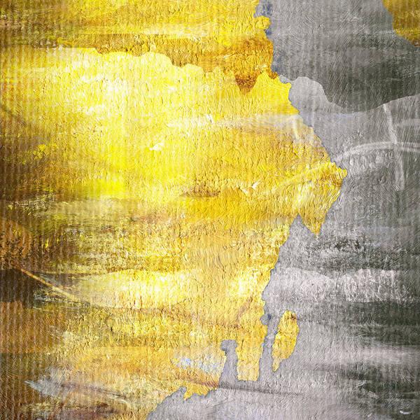 Brett Poster featuring the digital art Layers by Brett Pfister