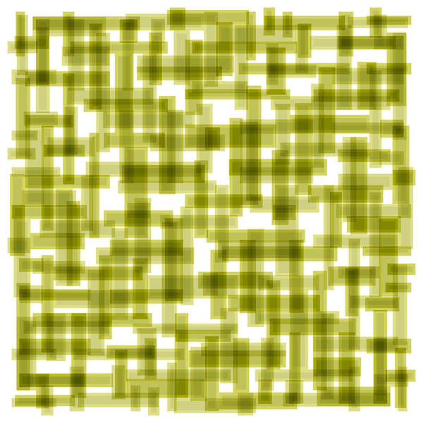 Light Green Poster featuring the painting Light Green Abstract by Frank Tschakert