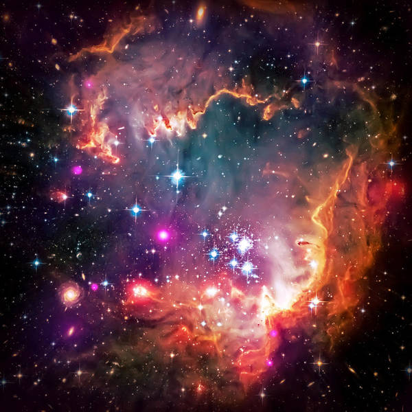 Universe Poster featuring the photograph Magellanic Cloud 2 by Jennifer Rondinelli Reilly - Fine Art Photography