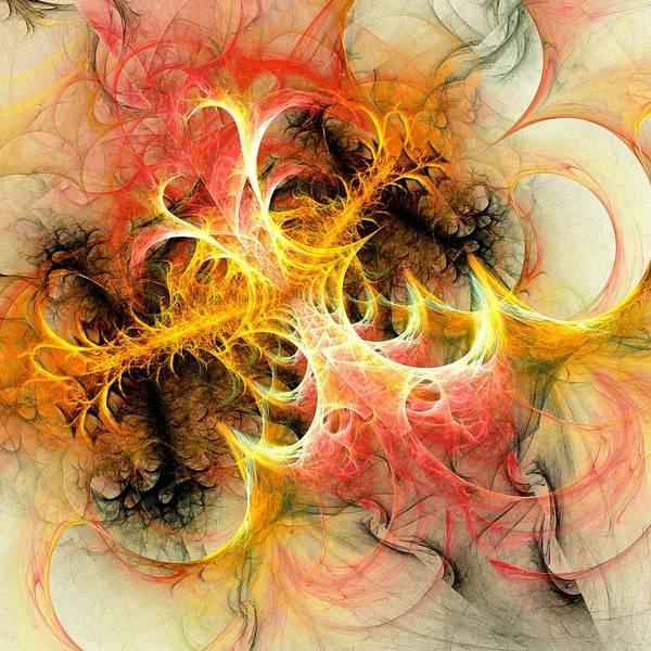 Interior Poster featuring the digital art Mind Over Matter by Anastasiya Malakhova