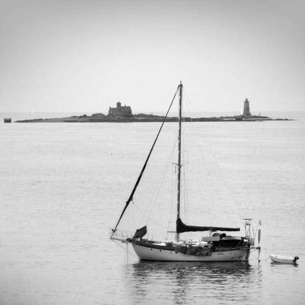 Lighthouse Poster featuring the photograph On The Water by Mike McGlothlen