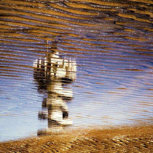 Scheveningen Pier Poster featuring the photograph Pier Tower by Dave Bowman