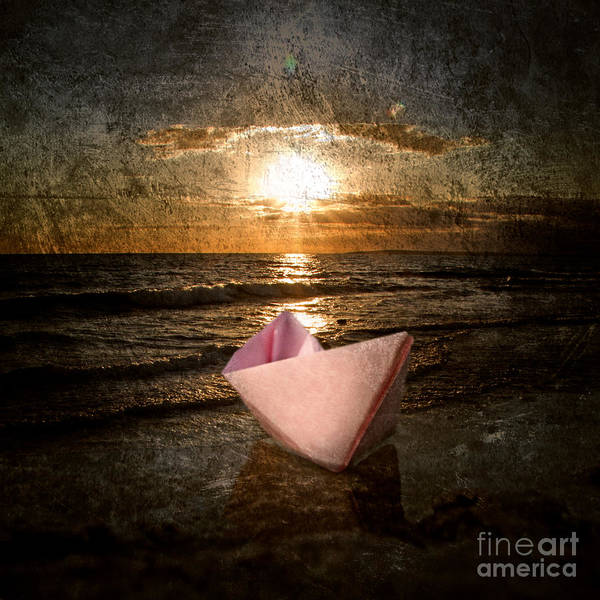 Art Poster featuring the photograph Pink Dreams by Stelios Kleanthous
