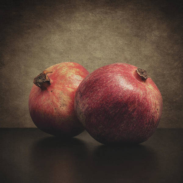 Pomegranate Poster featuring the photograph Pomegranate by Taylan Apukovska