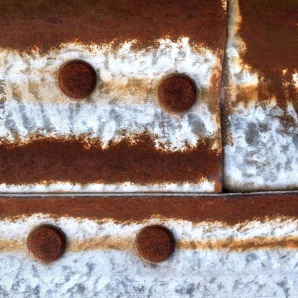 Abstract Poster featuring the photograph Raw Steel 2 by Tom Druin