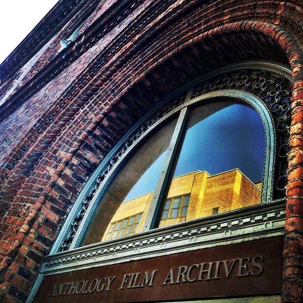 Anthology Film Archives Poster featuring the photograph Red Brick Reflection by Natasha Marco