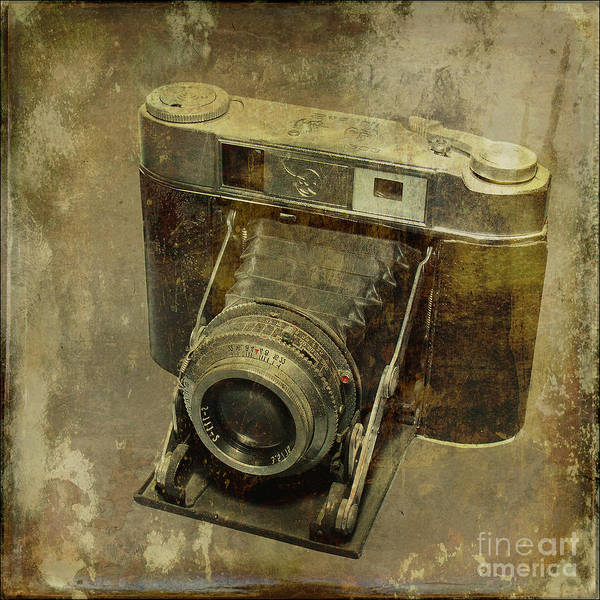 Texture Poster featuring the photograph Shelf Camera by Pierre Dumas