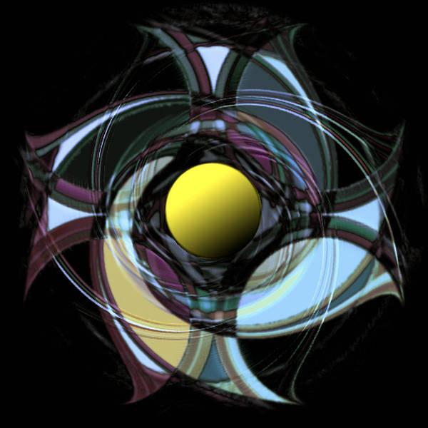 Poster featuring the digital art Spinners 9 by Warren Furman