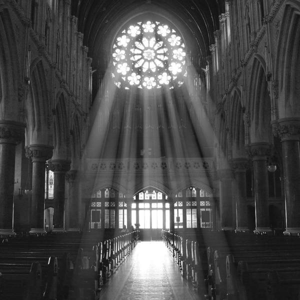 Cathedral Poster featuring the photograph The Light - Ireland by Mike McGlothlen