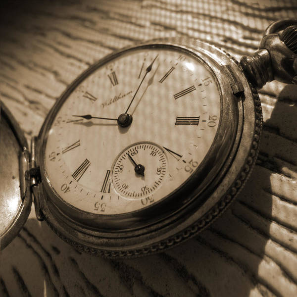 Pocket Watch Poster featuring the photograph The Pocket Watch by Mike McGlothlen