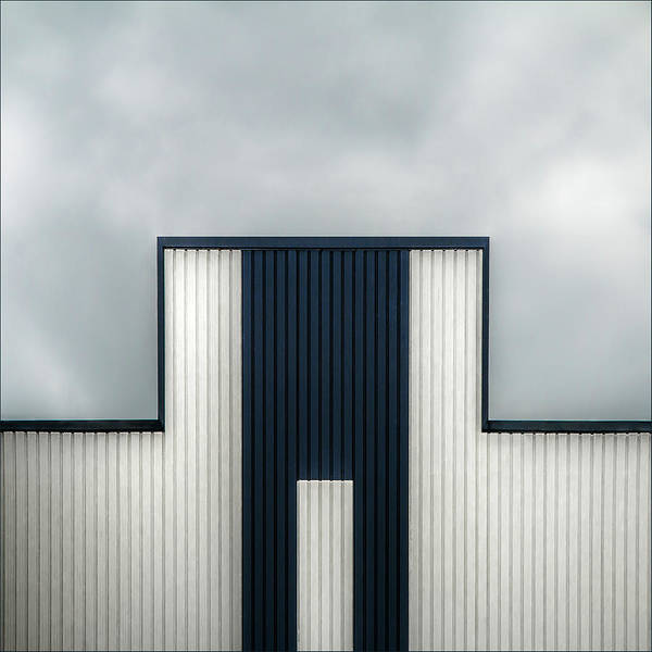 Geometry Poster featuring the photograph The Tetris Factory by Gilbert Claes