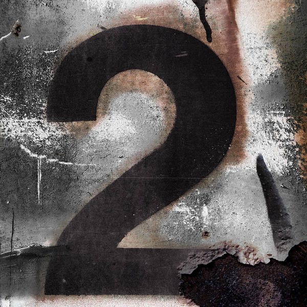 Number Poster featuring the photograph Train Number 2 by Carol Leigh