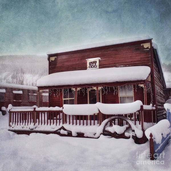 House Poster featuring the photograph Winter Sleep by Priska Wettstein