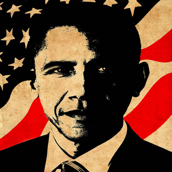Obama Poster featuring the photograph World Leaders 1 by Andrew Fare