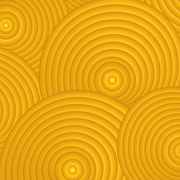 Frank Tschakert Poster featuring the painting Yellow Abstract by Frank Tschakert