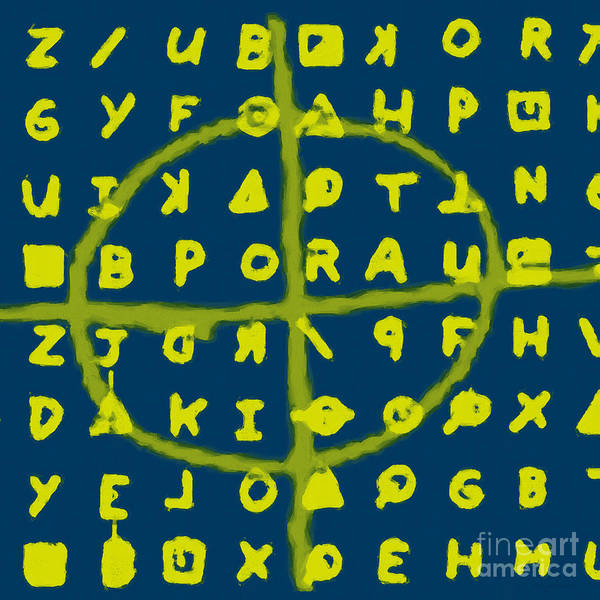 Zodiac Poster featuring the photograph Zodiac Killer Code And Sign 20130213p68 by Wingsdomain Art and Photography