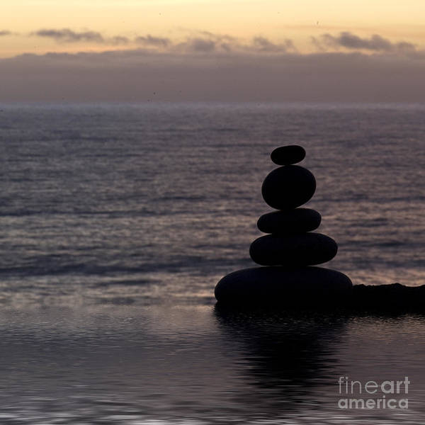 Stone Poster featuring the photograph Stone Balance 5 by Andrea Haase