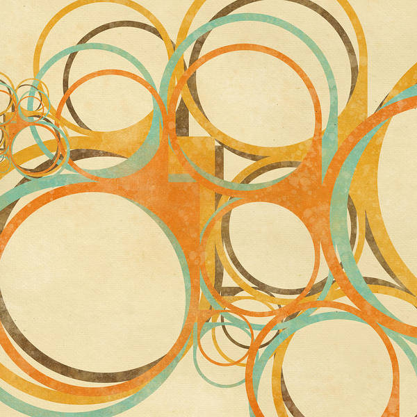 Art Poster featuring the painting Abstract Circle by Setsiri Silapasuwanchai