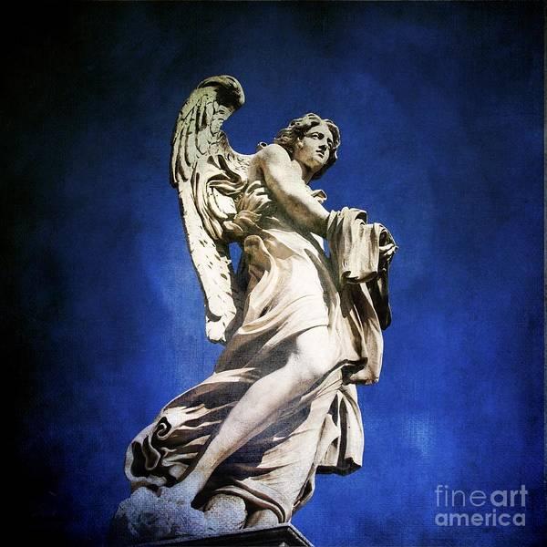 Angel Poster featuring the photograph Angelo by Bernard Jaubert
