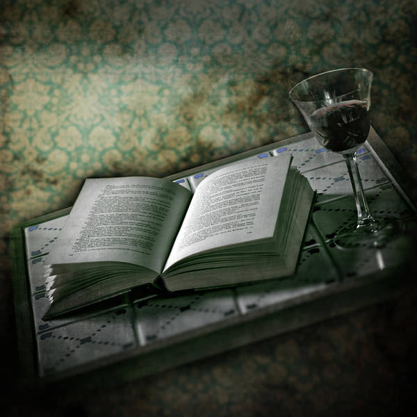 Glass Poster featuring the photograph Time To Read by Joana Kruse