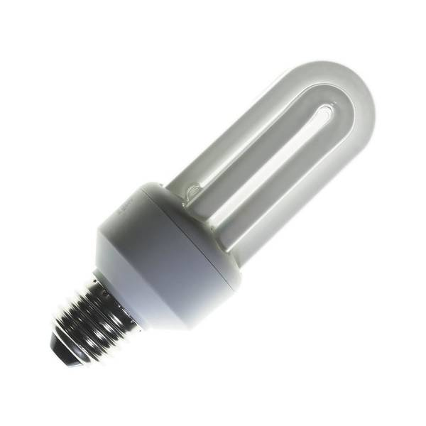 Light Bulb Poster featuring the photograph Energy-saving Light Bulb by Mark Sykes