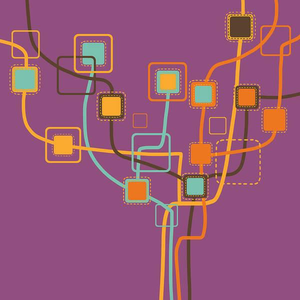Art Poster featuring the photograph Graphic Tree Pattern by Setsiri Silapasuwanchai