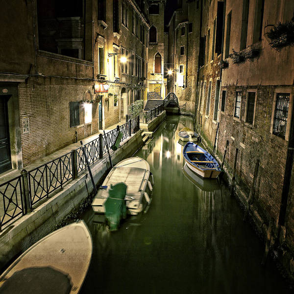 Gate Poster featuring the photograph Venezia by Joana Kruse