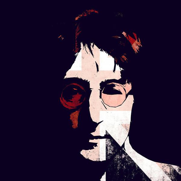 John Lennon Dreamer Not The Only One Beatle Beatles Song Songwriter Dream Poster featuring the digital art British Idol by Steve K