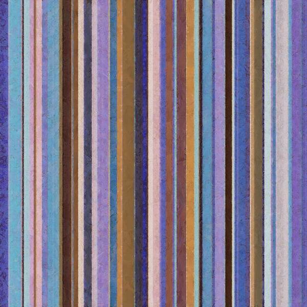 Textured Poster featuring the painting Comfortable Stripes Ll by Michelle Calkins