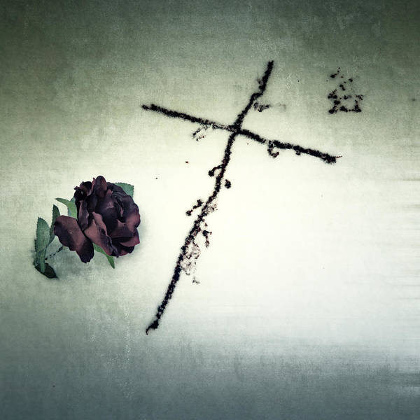 Cross Poster featuring the photograph Cross by Joana Kruse