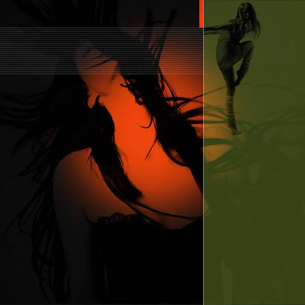 Romantic Poster featuring the digital art Dream by Naxart Studio