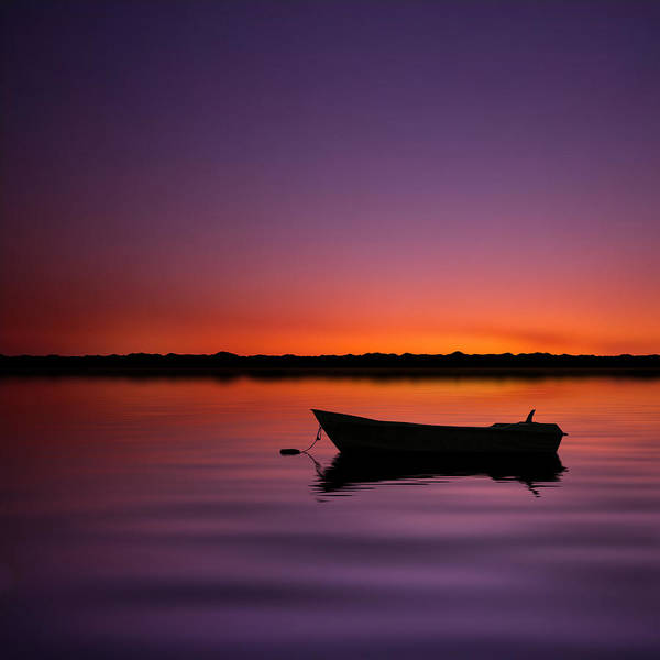 Square Poster featuring the photograph Enjoying Serenity by Carlos Gotay