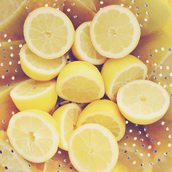 Lemon Poster featuring the photograph Fresh Lemons by Amy Tyler