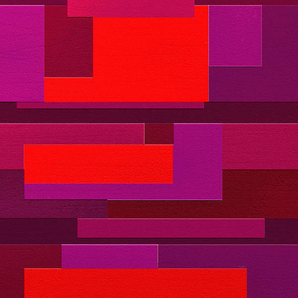 Abstract Art Poster featuring the painting Funky by Ely Arsha